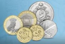 2014 UK Coins / A look at the coins you'll find in your change in 2014 and The Royal Mint's 2014 Annual Sets. / by The Royal Mint