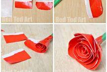Duct tape & washi tape craft