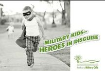 April = Month of the Military Child / by Operation We Are Here ~ Military Resources