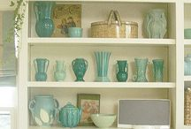 Collectables / Beautiful and loved treasures old and new  / by Gem .