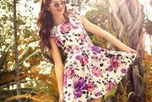 All things Floral / Pretty floral summer dresses.