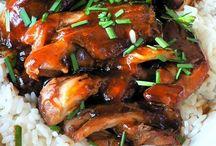 Recipes - Chinese Night