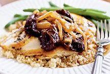 Chicken + Turkey Recipes / Healthy recipes using chicken breasts, chicken thighs, drumsticks, ground turkey and more!