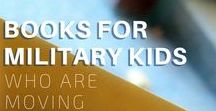 Best List of Books for Military Kids 100+ Books! / Yes, this is THE BEST & MOST EXHAUSTIVE list of books for military children & teens! #MilFam #Milspouse #Deployment #PCS #Move