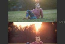 ANTES Y DESPUES photoshop