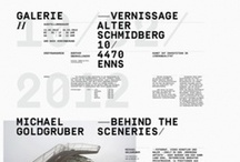 Typography & Composition / Typography-driven layout design.