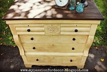 furniture inspiration / things of a furniture nature that I will someday build, refinish, or diy / by Lorene (just Lu)