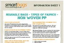 Bag for Life Fabrics / Information on the eco-friendly fabrics used to create a promotional Bag for Life  #bagforlife #ecofriendly #recycling