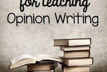 Opinion Writing / Opinion writing ideas and products for K-5th grades