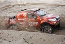 Preparation for the Dakar Rally 2016