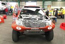 Pre-race check for Dakar Rally 2016