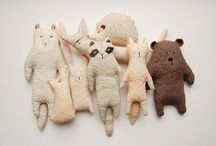 Handmade Dolls / Handmade dolls, soft sculpture, stuffies, softies, and heirloom sewn toys.  / by Katrina Rodabaugh