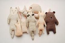 Handmade Dolls / Handmade dolls, soft sculpture, stuffies, softies, and heirloom sewn toys.