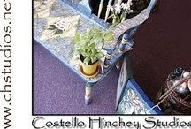 Painted Furniture by Costello Hinchey / These are my favorite painted furniture pieces. My dream is to have a country Bed & Breakfast and fill the rooms with wonder!