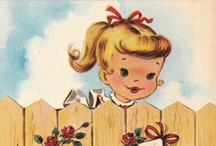 Vintage postcards and labels