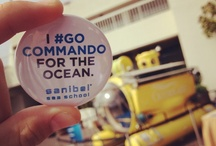 #GoCommando / Going Commando is pledging to use less plastic in an effort to benefit the health of the ocean ~ Pledge to not use plastic straws, or pledge to remember your reusable bags at the grocery store.  Whatever it is, use less plastic ~ The ocean will thank you.    ~Share how you Go Commando on our board~