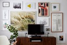Gallery Walls & Decor Inspiration / Inspiration for creating the perfect gallery wall and decorating your space