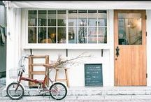 Shops and Storefronts / Shop displays, beautiful storefronts, dream cafes, and other inspiring indie boutiques.