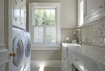 lovely laundry rooms / by debra badams