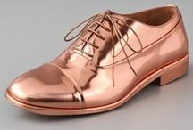 Metallic Shoes / Gold, silver, pewter, bronze shoes for all occasions / by Lisa Collins