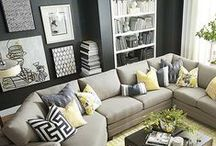 Living Room Art & Inspiration / Styling ideas and inspiration for creating the perfect living room space