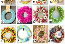 Creating: Wreaths / Wreath Making Ideas / by Sherry Potter
