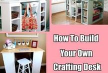 Art Studio, Craft & Sewing Room Ideas / Design and Storage tips for your art studio, craft and/or sewing room. #art #studio #craft #room #organization #design #storage #ideas #sewing  / by Jackie B