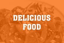 Delicious & Healthy Food / We love food.