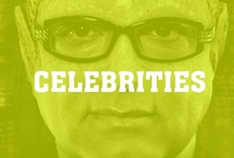 Celebrities / Famous people and the things they do