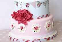 """Cakes Glorious Cakes / """"Cake is happiness! If you know the way of the cake, you know the way of happiness! If you have a cake in front of you, you should not look any further for joy!""""  ~   C. JoyBell C."""