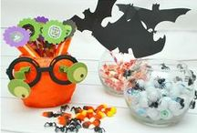 Halloween / Recipes, crafts, decorations, printables for celebrating Halloween  / by Camille Gabel
