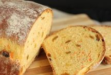 Bread Recipes / Yeast breads, muffins, simple bread #recipes. / by Camille @ Growing Up Gabel