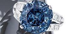 Jewels. Blue.