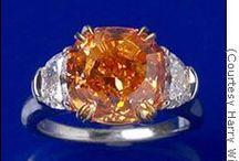 Jewels. Orange.