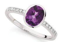 Jewels. Purple.