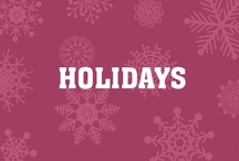 Happy Holidays / Holiday Tips and Tricks :) / by Intent Dot Com
