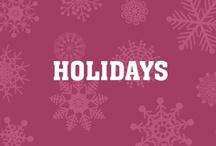Happy Holidays / Holiday Tips and Tricks :)