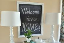 House stuff / Items and accessories for the home  / by Kiana Good