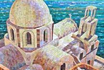 Mosaics - Architectural Landscapes / by Kasia Polkowska