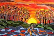 Mosaics - Landscape and Natural Scenery / by Kasia Polkowska