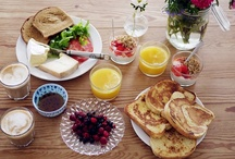☍ BREAKFAST ☍ - begin / by Emelie Henning