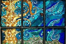 Mosaics - In a Window Frame/On Glass / by Kasia Polkowska