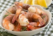 Seafood Recipes / Seafood #recipes including shrimp, salmon, tilapia, and more / by Camille Gabel