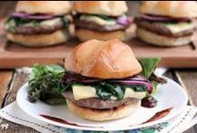 Burgers / The best hamburger and burger recipes on the web / by Camille Gabel