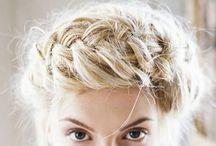 {Updos + Fancy Hair}