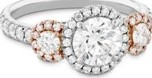 """Engagement Rings / """"My whole heart for my whole life.""""  ~  French saying used on poesy rings"""