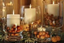 Thanksgiving  / Healthy food and recipes for Thanksgiving, as well as clever decorating ideas.