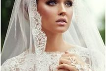 Bridal Looks We LOVE* / Beautiful wedding dresses that are too good not to share!! Bridal makeup, bridal hair / by Nilah & Company