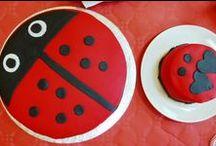 My Bday / Birthday Party Ideas Elsa's 2 year bday party - Ladybug