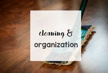 Cleaning & Organization / Get your house clean and organized with these tips, homemade cleaner recipes, schedules, and more.